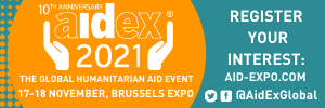 AidEx 2021 – Brussels, Belgium