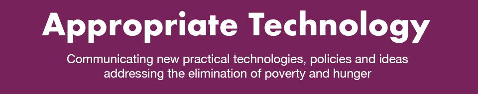 Appropriate Technology Magazine
